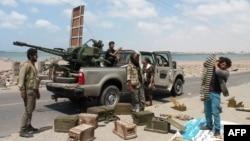 Бійці «Південного руху» на околицях Адена