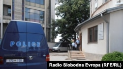 Полициска станица во Куманово.