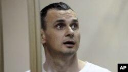 Украинский режиссер Олег Сенцов, находящийся в российской тюрьме. Архивное фото.