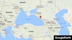 Орієнтовне місце падіння російського літака ТУ-154