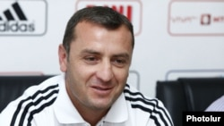 Armenia -- Vartan Minasian, the head coach of Armenian soccer team, undated
