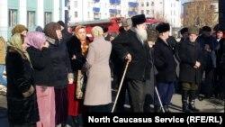 День памяти и скорби в Грозном