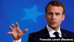 Франция президенті Эммануель Макрон