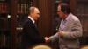 Уладзімір Пуцін і Олівэр Стоўн