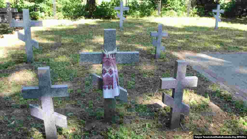 Український цвинтар у Сагрині