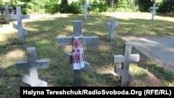Український цвинтар у Сагрині (нині територія Польщі)