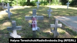 Ukraine -- Events in memoriam of Volyn tragedy victims, Pavlivka, Volyn region, 06Jul2013