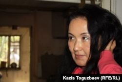 Жайнагуль Айдархан, жена Арона Атабека. Алматы, 29 сентября 2012 года.