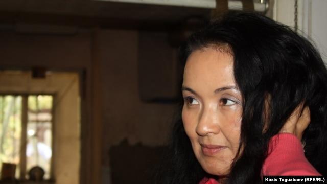 Atabek's wife, Zhainagul Aidarkhan