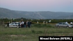 Avion se srušio ubrzo nakon što je pilot dobio infarkt. Foto: mjesto nesreće, maj 2017.