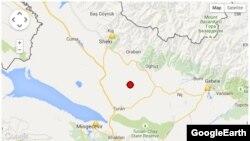Землетрясение в Шеки