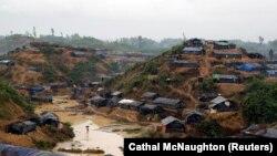 Izbjegličko naselje Rohindža u Bangladešu, septembar 2017.