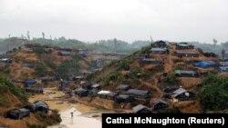 Лагерь для беженцев рохинья в Бангладеш