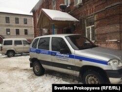 Струги Красные, отделение полиции