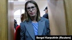Журналист Ксения Собчак.
