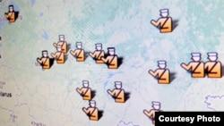 Карта проверок НКО в России