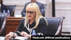 Рената Дескоска, министерка за правда