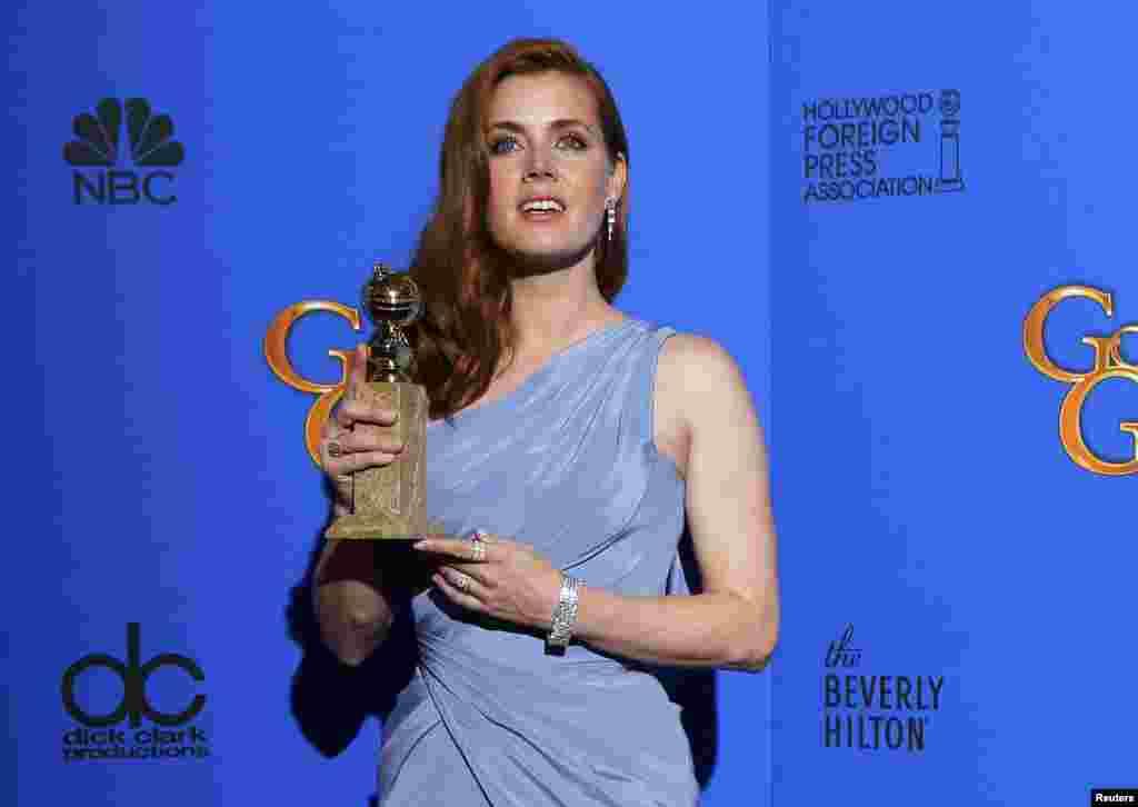 امی آدامز٬ بهترین بازیگر نقش اول زن در فیلمهای کمدی یا موزیکال.