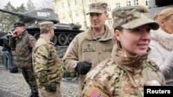 Війська США прибули до Польщі, Жаґань, 12 січня 2017 року