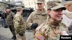 Американские военные прибыли в Жагань