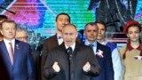 В. Путин на концерте в Симферополе 18 марта 2019