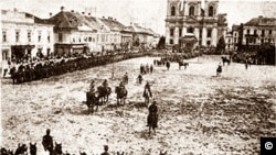 Timișoara, PIața Unirii, 3 august 1919