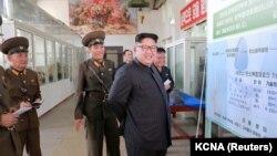 Sjevernokorejski lider Kim Jong-un (Kim Džong Un)