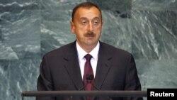 Президент Азербайджана Ильхам Алиев выступает на 65-й сессии Генеральной ассамблеи ООН в Нью-Йорке, 23 сентября 2010