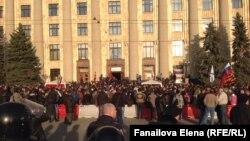 Пророссийские протесты в Харькове