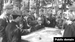 Alman ordusunda azərbaycanlı legionçular. 804-cü legionçu batalyon