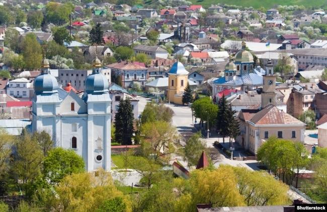 Місто Теребовля Тернопільської області