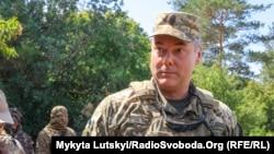 Генерал-лейтенант Сергій Наєв, командувач ООС 2018-2019 рік