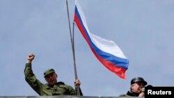 Захват штаба ВМС Украины в Севастополе