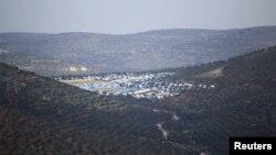 Сирияның Идлиб провинциясындағы босқындар лагері (Көрнекі сурет).