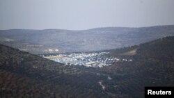 Лагерь для беженцев в сирийской провинции Идлиб. Иллюстративное фото.