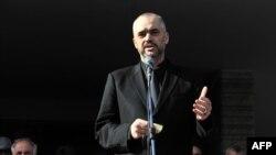 Лидерот на албанските социјалисти Еди Рама