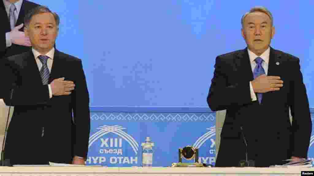 На этой неделе спикер мажилиса Нурлан Нигматулин тему «политического преемника» Нурсултана Назарбаева назвал провокационной. Об этом он написал в открытом письме, опубликованном на сайте парламента. Депутат в письме отмечает, чтоНазарбаев «не только привел Казахстан к нынешним успехам», но и является, по убеждению Нигматулина, единственным политическим лидером, который и в дальнейшем должен вести страну к новым победам. Нигматулин отмечает, что другой альтернативы «не может быть».