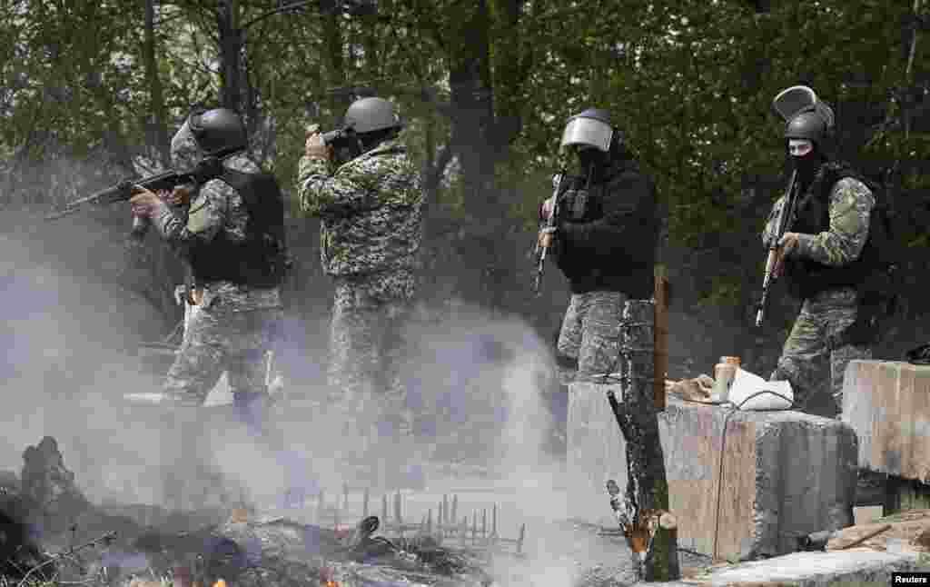 Підрозділи МВС та Міністерства оборони