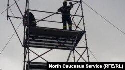 Тренировка спасателей в Германии