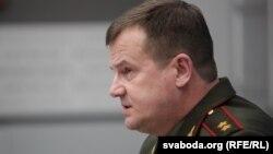 Міністар абароны Рэспублікі Беларусь Андрэй Раўкоў