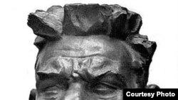 "И.Д. Шадр. А.М. Горький. 1939 г. [Фото — <a href=""http://vivovoco.rsl.ru/"" target=_blank>VIVOS VOCO!</a>]"