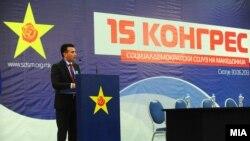 Лидерот на опозицискиот СДСМ Зоран Заев.