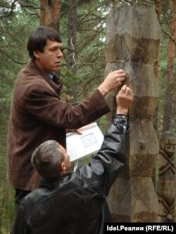 На работе в этнопарке Сувар в чувашском Заволжье