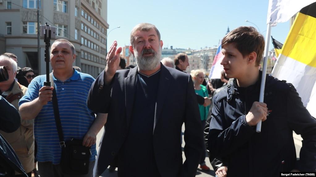 Вячеслав Мальцев на митинге в Москве
