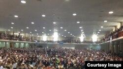 جمعیت حاضر در سخنرانی عبدالله عبدالله ۱۷ تیر ۹۳، کابل
