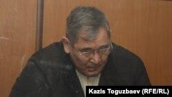 ҰҚК генералы Әбдіразақ Ілиясов. Алматы, 30 желтоқсан 2013 жыл.