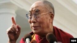 دالایی لاما، رهبر بوداییان تبت.