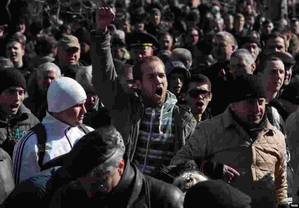 Симферополь, 23 февраля 2014 г.