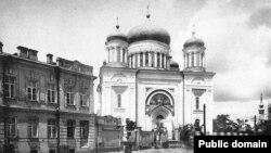 Киев. Десятинная церковь в XIX веке