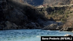Кањонот на реката Морача.